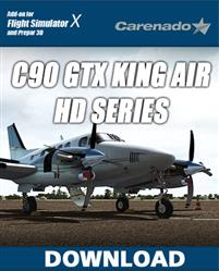 هواپیمای Carenado C90 GTX King Air